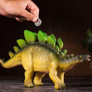 Image 5 - Creative children piggy bank fashion personality dinosaur cartoon piggy bank  coin boy piggy bank gift Home Decoration