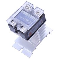 DC 3 32V to AC 24 480V Solid State Relay SSR 10A with Black Heat Sink|Relays|   -