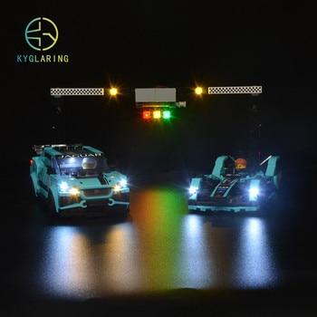 Juego de luces Kyglaring para LEGO Speed Champions 76898 Fórmula E Racing GEN (solo kit ligero incluido)