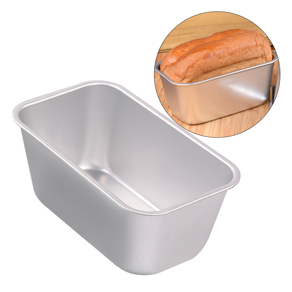 Anodized Aluminum Alloy Camping Restaurant Home Kitchen Bread Mold DIY Baking Tool Multipurpose Bakery Cake Heat Resistant
