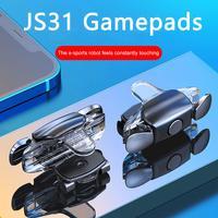 JS31-Gamepad de teléfono móvil, botón disparador, tecla de objetivo, juegos de teléfono móvil, controlador tirador L1R1, PUBG para Iphone y Xiaomi