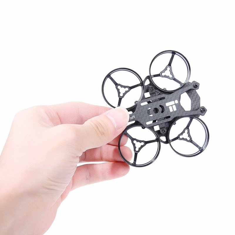iFlight TurboBee 66R 66mm Micro 2S FPV RC Quadcopter Frame Kit for RC FPV Cine Drone Whoop Only 13.4g