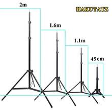 45cm 1,1 m 1,6 m 2m Fotografie Stativ Light Stand Für Foto Studio Relfector Softbox Lame Hintergrund Video beleuchtung Studio Kits