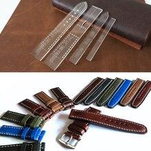 Прозрачный акриловый ремешок для часов, трафарет, шаблон, сделай сам, кожаный инструмент для рукоделия, товары для дома, принадлежности для наручных часов, форма для мужчин