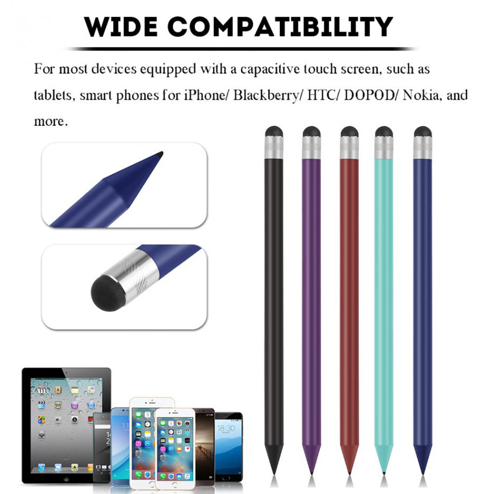 Game Console Wear Resistance Tool Touch Screen Writing Resistive Screen Capacitive Pencil Stylus Pen Tablet Lightweight
