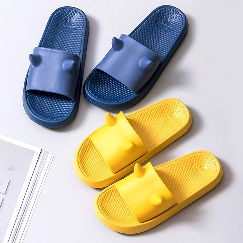 Fashion Women Summer Sport Slippers Slide Sandals Beach Slides  3d Little Monster Flip Flops Non-slip Soft Sole Women Men Shoes