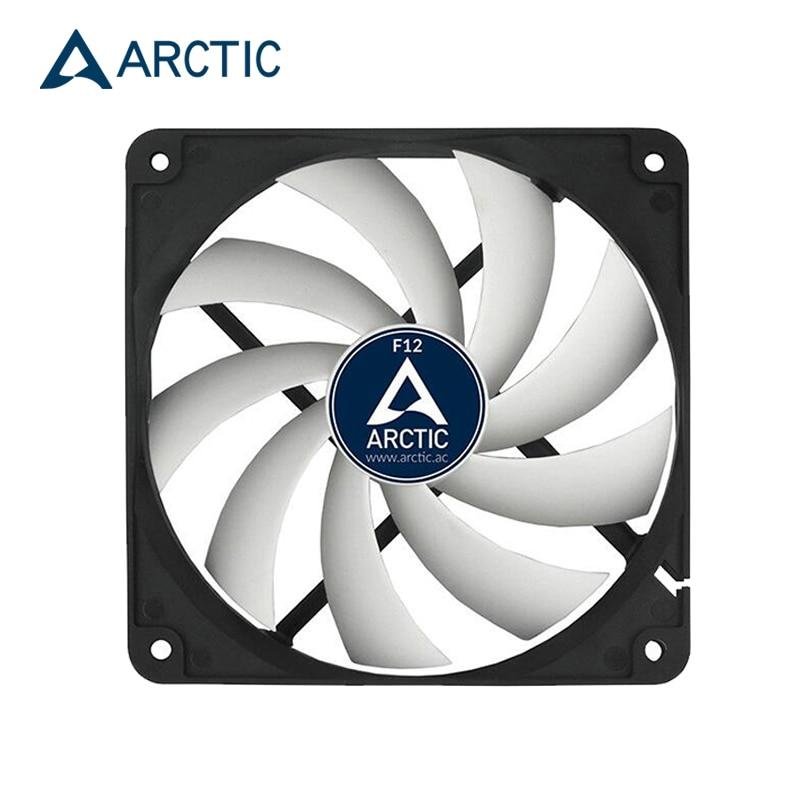 ARCTIC F12  Computer Case 12cm Fan 3pin Socket FDB 1350 RPM Fluid Bearing 120x120x25MM Fan For CPU Radiator