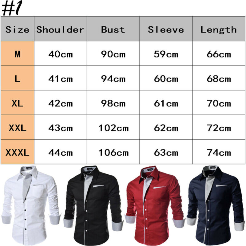 Luxury 2019 Men Casual Long Sleeved Shirts Slim Fit Male Social Business Dress Shirt Brand Men Clothing Camisas Para Hombre hot 4