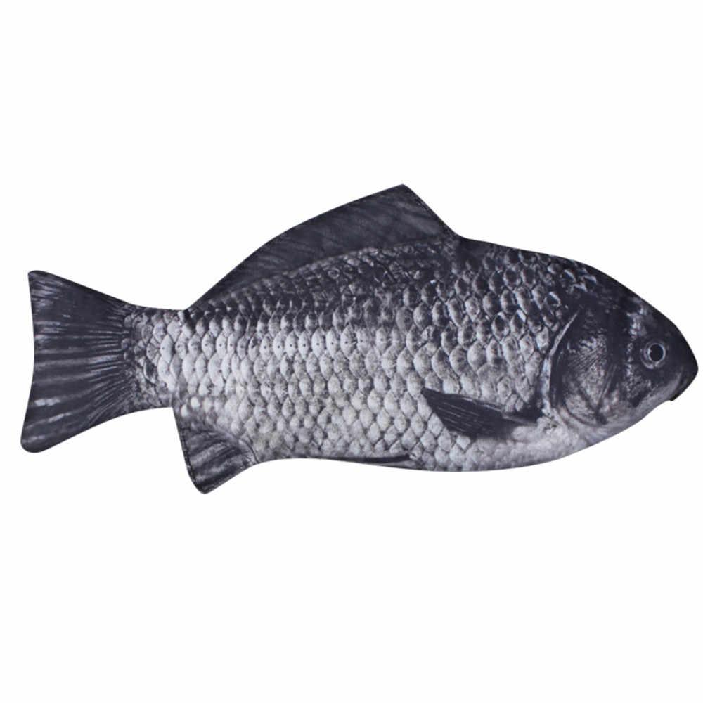 Yaratıcı balık şekli kalem kutusu sevimli kore tarzı kumaş kalemler çanta okul malzemeleri kırtasiye kalem kutusu hediye Drop Shipping # h40