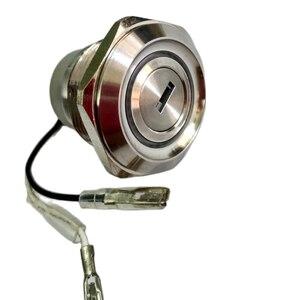 Image 3 - 30ミリメートル2または3位置金属12v照明キーロックスイッチLAS1 AGQ30ステンレス鋼