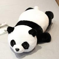 Stuffed Plush Toy Panda Soft Doll Hand Warmer Stuffed Furry Toys For Children Panda Lovely Peluches Grandes Giant Pillow JJ60MR