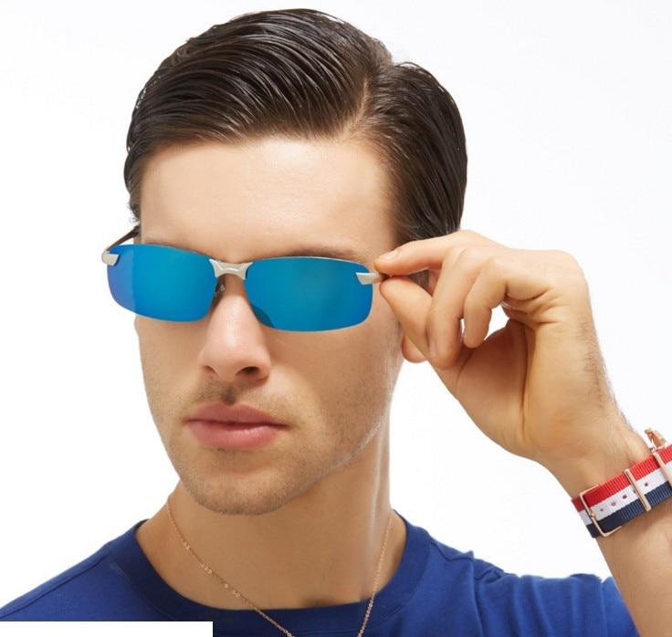 F4 herrar aluminium-magnesium bilförare nattvisionsglasögon - Kläder tillbehör - Foto 2