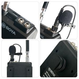 Image 4 - BOYA BY WFM12 12CH ไร้สาย VHF ไมโครโฟนไร้สายไมโครโฟนระบบตัวรับสัญญาณสำหรับกล้อง DSLR Canon Camcorder