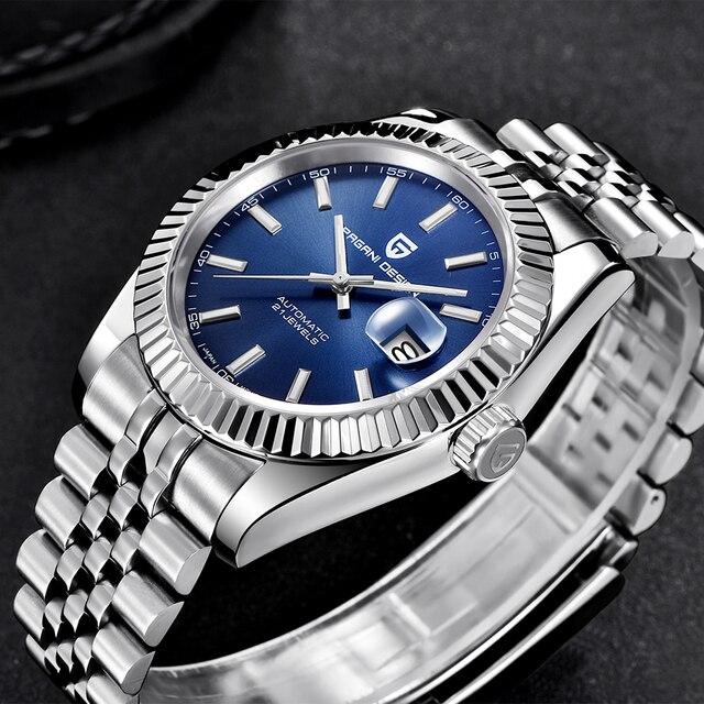 PAGANI DESIGN Men Mechanical Watch Top Brand Luxury Automatic Watch Sport Stainless Steel Waterproof Watch Men relogio masculino 6