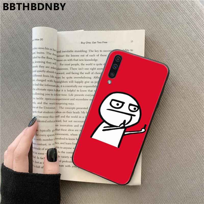 Etui na telefony dla Galaxy A70 etui Coque etui bumper sztywny futerał na telefon dla Samsung uwaga 3 4 5 7 8 9 10 Pro A7 2018 A10 A40 A50 A70