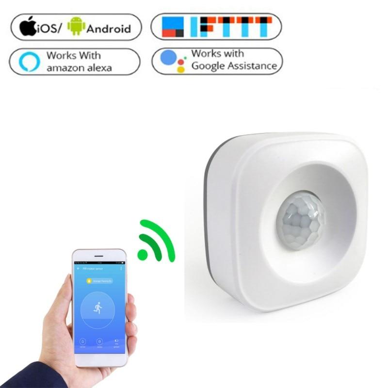 Wifi pir sensor de movimento para alarme