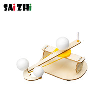 Saizhi Science Toys Solar System Model Astronomy Sun Earth Moon Planet Experiment Educational Toy For Children School STEM Kit(China)
