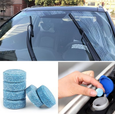 Car Concentrated Multifunctional Effervescent Tablet Cleaner Super Clean Agent Glass Cleaner Windshield Cleaner Car Wash