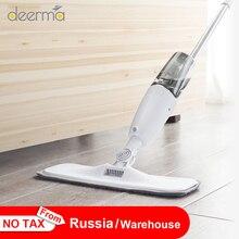 Originale Deerma Dem Spruzzi Dacqua Spazzatrice Norma Mijia Floor Cleaner Polvere di Fibra di Carbonio Lavapavimenti 360 Rotante Asta 350ml Serbatoio Ceretta Mop