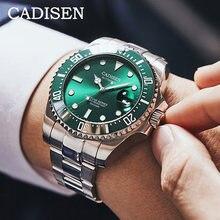 Часы наручные cadisen Мужские механические дизайнерские брендовые