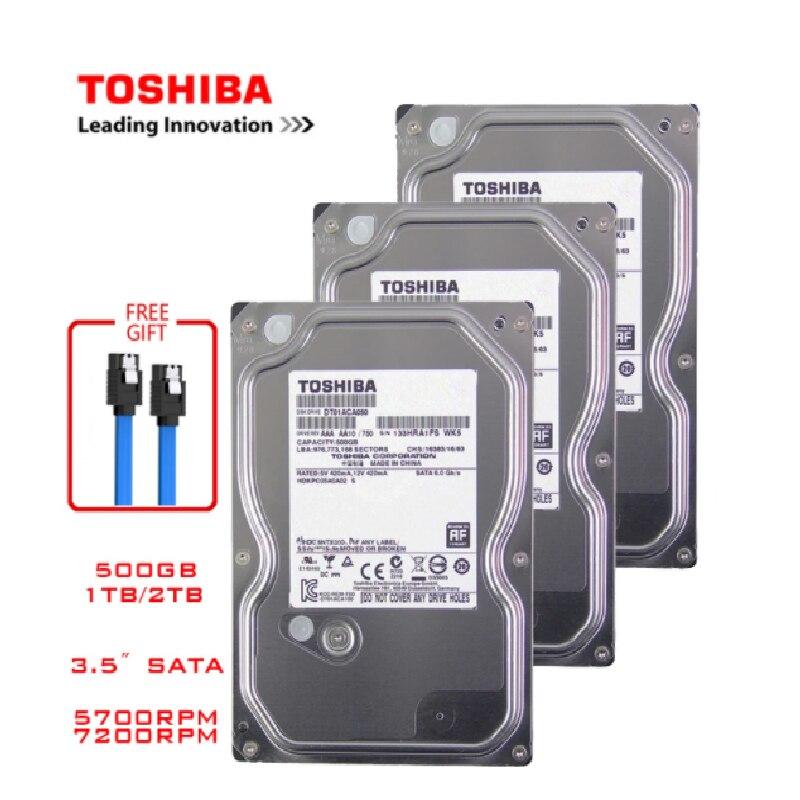 TOSHIBA 4 ТБ 2 ТБ 1 ТБ 500GB внутренний жесткий диск HDD HD SATA III 3,5