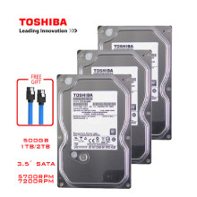 TOSHIBA-disco duro interno HDD HD SATA III, 4TB, 2TB, 1TB, 500GB, 3,5