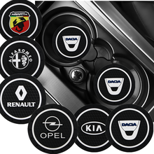 Carro anti-slip pad Mat Suporte de Copo Garrafa Pad Para Audi TT B8 A1 A3 A4 B5 B6 B7 A5 A6 C5 C6 C7 A7 A8 D3 D4 Q3 42 Q5 8U Q7 4L