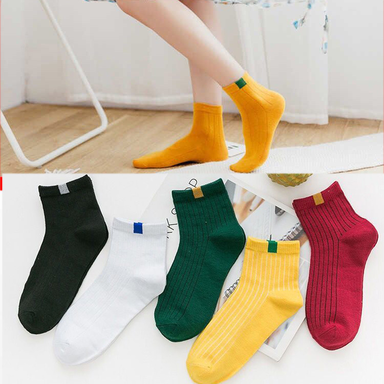 Women's Socks Cotton Socks Students In The Tube Autumn And Winter Sweet And Lovely Warm Sunshine Fashion