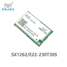SX1262 LoRa TCXO 230MHz 30dBm SMD E22 230T30S Wireless Transceiver IPEX Stamp Hole 1W Long Distance Transmitter and Receiver