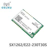 SX1262 لورا TCXO 230MHz 30dBm مصلحة الارصاد الجوية E22 230T30S جهاز الإرسال والاستقبال اللاسلكي IPEX ختم ثقب 1 واط لمسافات طويلة الارسال والاستقبال