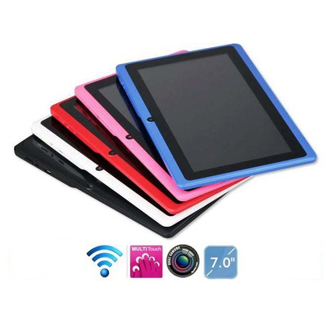 Tablet 7 Inch Order Child Dual Camara With Pouch