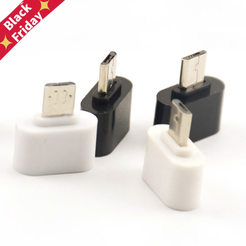 1/2Pcs Micro USB To USB Converter Mini OTG Cable USB OTG Adapter For Tablet PC Android