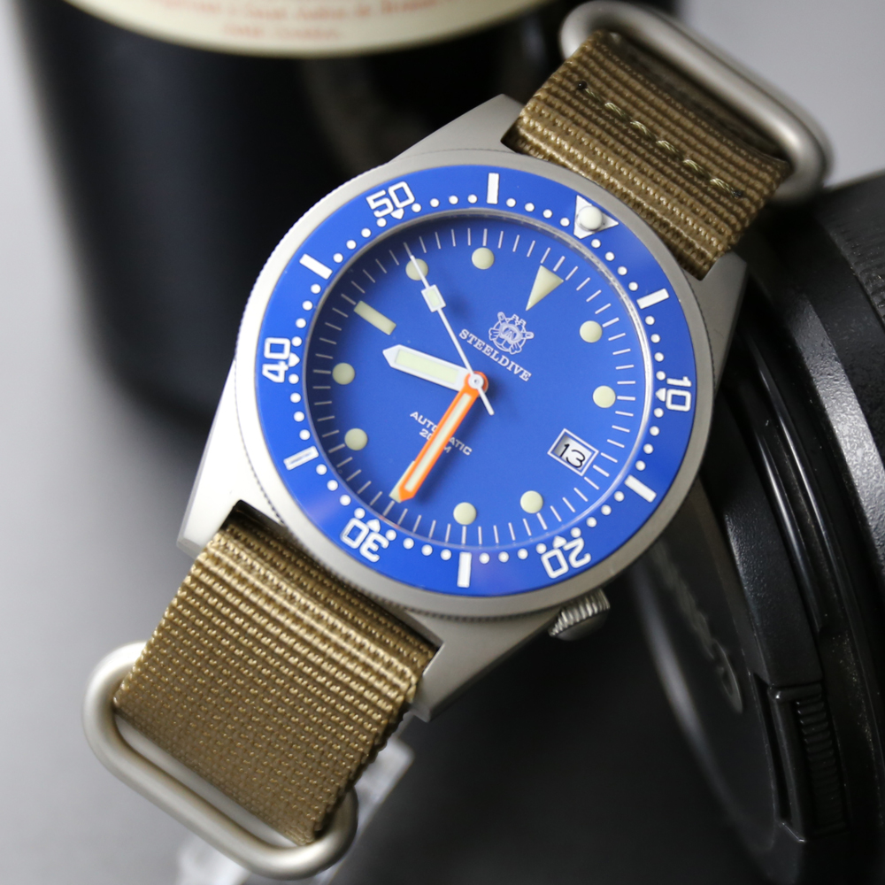 SteelDive 1979 Dive Watches Men 200m Mens Watches Automatic Mechanical Waterproof 200m Japan NH35 Sapphire Watch Automatic Men(China)