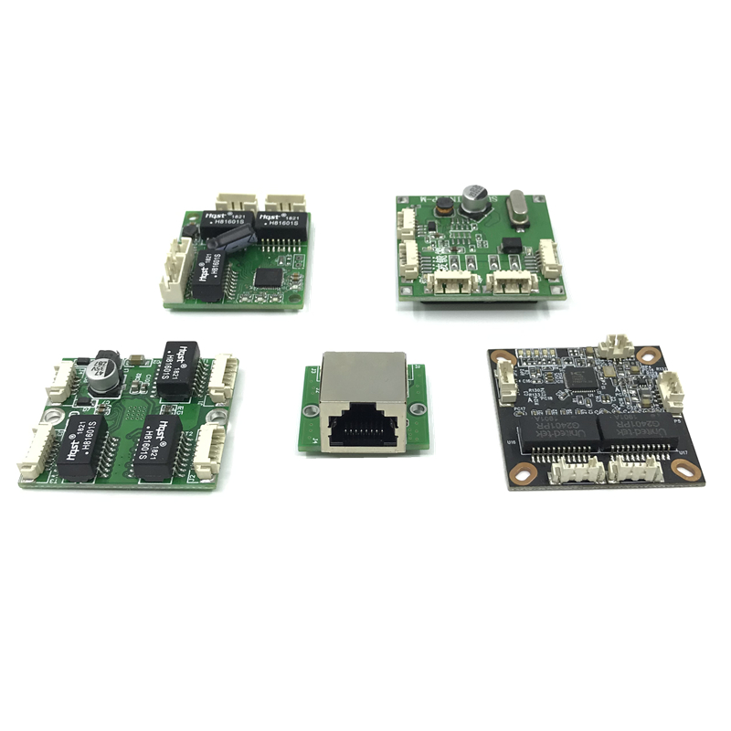 Mini PBCswitch Module PBC OEM Module Mini Size 3/4/5 Ports Network Switches Pcb Board Mini Ethernet Switch Module 10/100Mbps