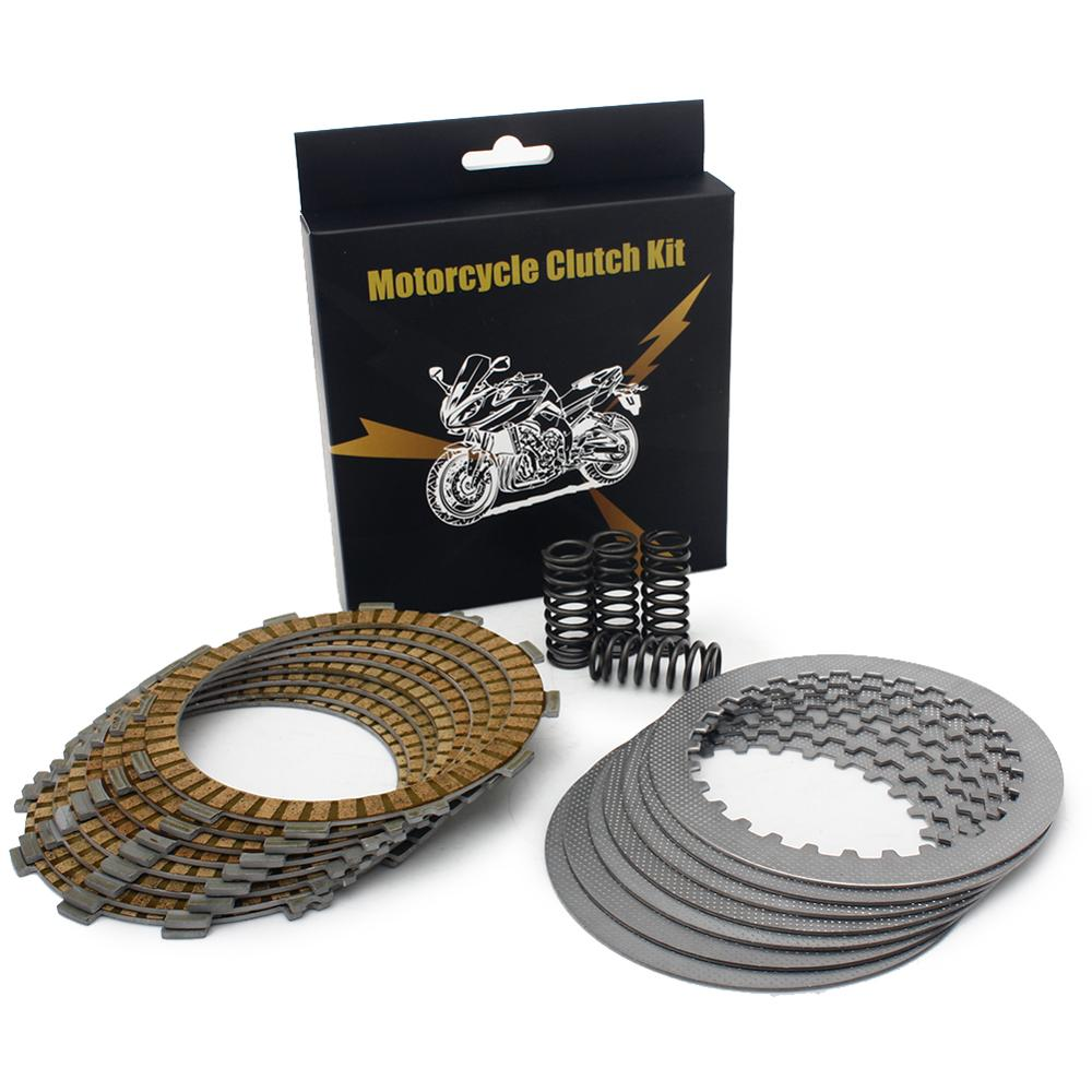 BIKINGBOY Clutch Friction Steel Plates Springs Kits For Honda CRF 450 R <font><b>CRF450R</b></font> 09 10 2009 <font><b>2010</b></font> CRF-R 450 450CC 09 10 image