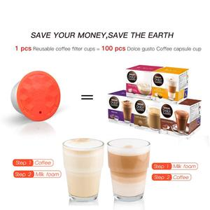 Image 5 - Stainless Steel Refillable Capsule Cup Compatible For Dolce Gusto Coffee Milk Powder Reusable Filter Eco Friendly Food Grade
