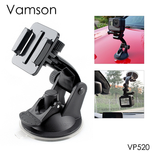 Image 1 - Vamson for Go Pro 8 9 Accessories 7cm Car Mount Windshield Suction Cup for Gopro Hero 9 8 7 6 5 4 for SJCAM for Yi 4K VP520