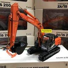 Zax200 1:40 caminhão escavadeira roda carregador diecast metal modelo de construção veículo brinquedos para meninos presente aniversário carro coleção