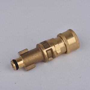 "Image 5 - HNYRI 고품질 1/4 ""퀵 커넥터 쿼터 어댑터 + Karcher/LAVOR/Gerni/Aquatak/B & D 와셔 기계 세척 용 압력 노즐"
