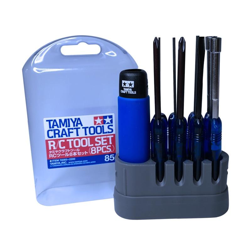 Tamiya 74085 RC Tool  8pcs  Combo Set  Screwdriver amp Wrench  Model Craft Tools
