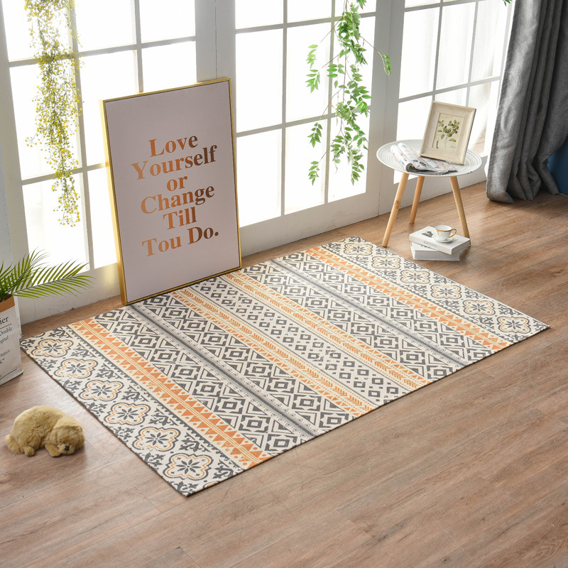 Retro Carpet For Living Room Bedroom Rug 120x180cm Geometric Rug Carpet With Tassels Kids Crawl Area Rugs Yoga Mat Home Decor