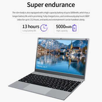 KUU XBOOK 14.1 Inch 8GB DDR4 RAM 128G 256G SSD Windows 10 laptop Intel J4115 Quad core Full size Keyboard Student Notebook