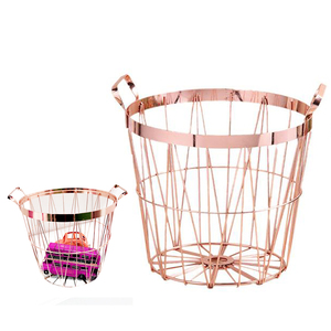 Nordic Style Rose Gold Storage