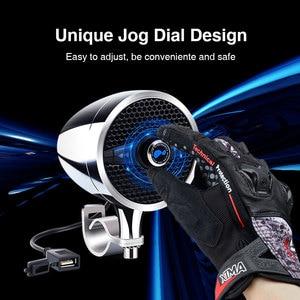 """Image 4 - Lexin Новый S3 3 """"50 Вт MP3 музыкальный аудио плеер Bluetooth колонки для мотоцикла водонепроницаемый портативный стерео с FM радио Bocina"""