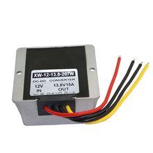 Преобразователь Регулятор Водонепроницаемый Модуль 12 вольт постоянного тока(9 В-13 в) до 13,8 V 15A 207W постоянного/переменного тока, повышающий преобразователь для автомобиля Мощность R9UA