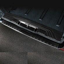 цена на Rear Bumper Protector Threshold Plate Cover Sill Trim For Mercedes Benz Metris Valente Vito Viano V-Class W447 2016 2017 2018 19