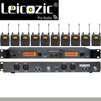 Leikozic profissional no sistema de monitor da orelha bk2050 10 receptores no monitor da fase do monitor da orelha sr2050 iem pro sistemas de som da fase|in ear monitor system|in ear system monitors|in ear system -