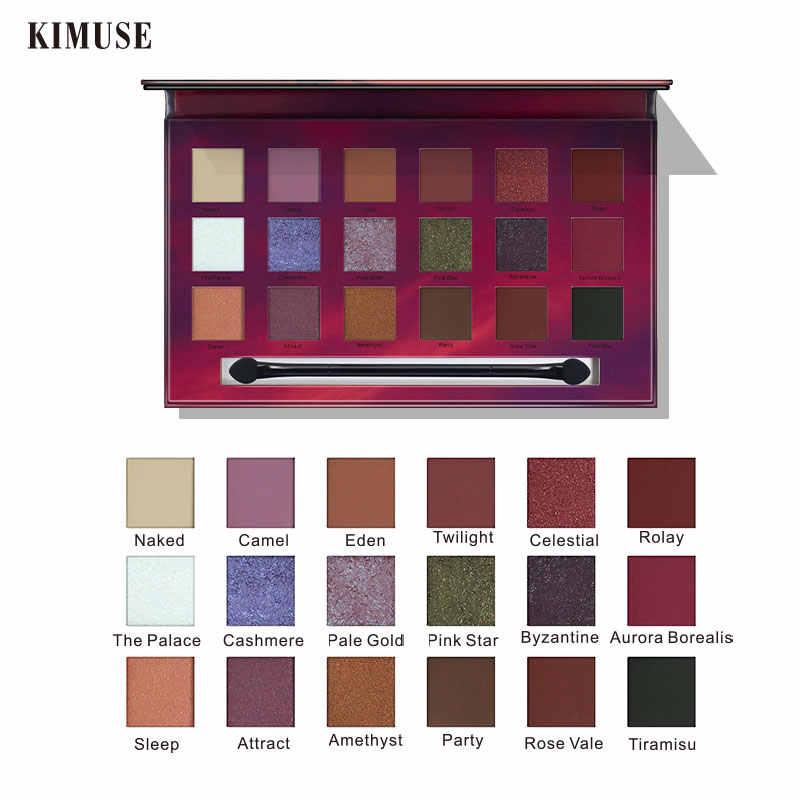 KIMUSE18 Colors Desert Star 아이 섀도우 팔레트 쉬머 섀도우 파우더 메이크업 아이 메이크업 아이 섀도우 프라이빗 라벨