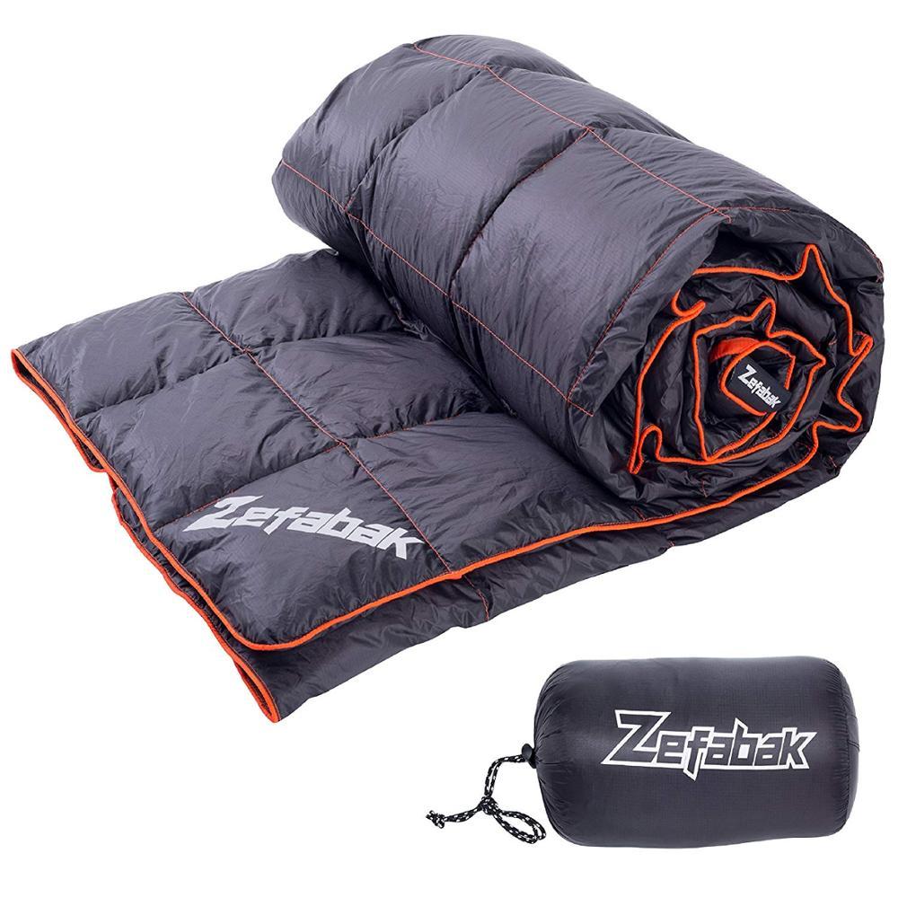 Agemore пуховое одеяло для кемпинга, уличное ультралегкое пуховое одеяло, компактное водонепроницаемое Походное туристическое одеяло, 500 г
