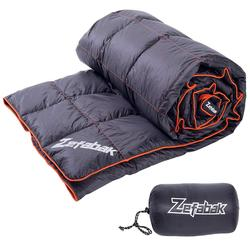 Agemore  Down Camping Blanket Outdoor Lightweight Down Blanket Compact Waterproof Camping Hiking Travel 300g Down Filler